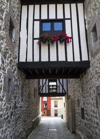 Old town of Llanes, Spain