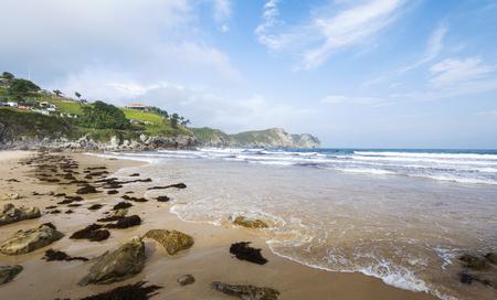 vidiago beach in Llanes, Asturias, Spain