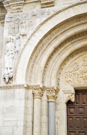 Romanesque church in the city of Leon, Spain Banque d'images - 96860976