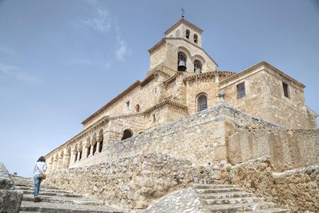 Romanesque church in San Esteban de Gormaz-Soria, Spain