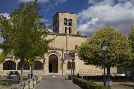 Santa Maria de la Pena church in Town of Sepulveda, Segovia (Spain)