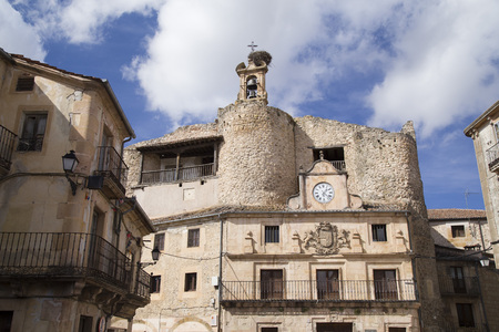 City Hall of the Plaza Mayor de Sepulveda, Segovia-Spain