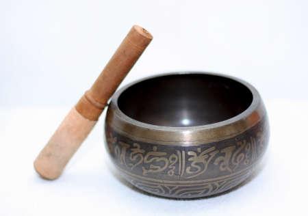 singing bowl: Tibetan singing bowl