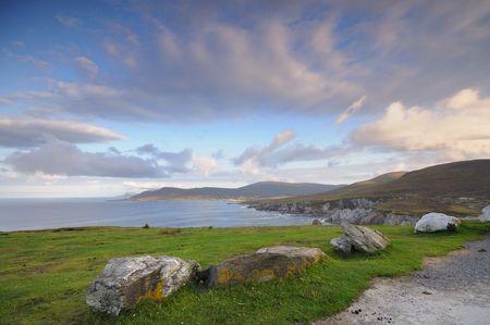 achill: sunrise on Achill Island , Ireland