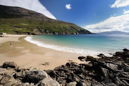 beautiful beach, Achill island,Ireland