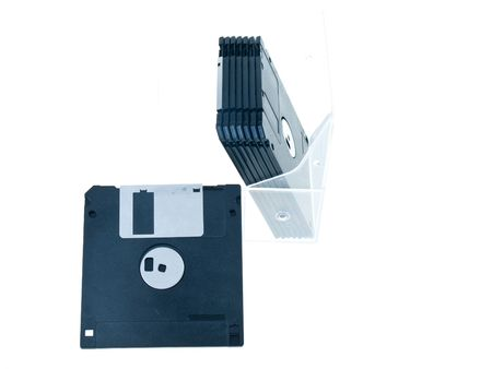 Detail photo of the floppy disk background photo