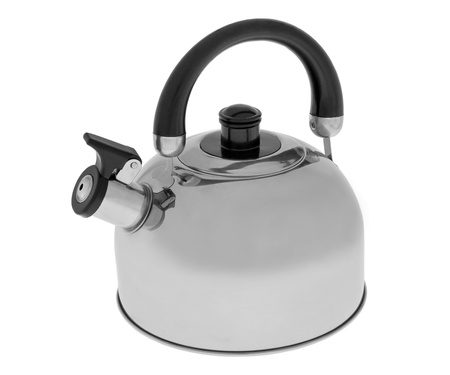 Kettle isolated on white background  photo