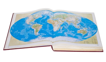 Representing World Map in Four Colors photo