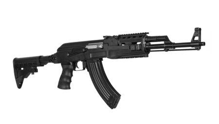 Rifle on a white background. 版權商用圖片