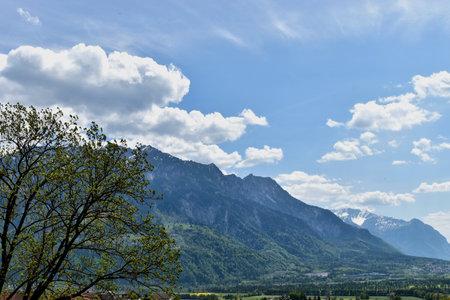 Amazing alpine scenery in Liechtenstein 24.4.2020