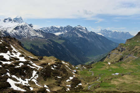 Visiting the amazing Klausenpass in Switzerland in springtime 8.5.2020