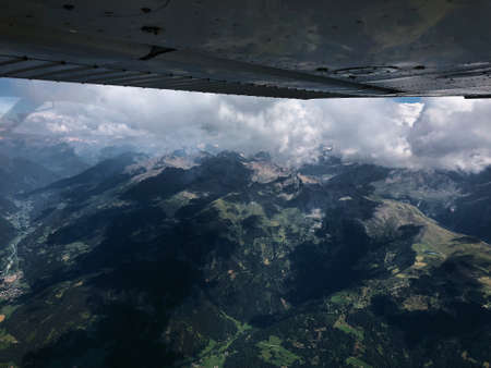 Exploring the majestic alps in Austria with a small plane 28.7.2018