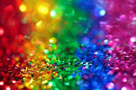 multi colored rainbow glitter art wallpaper background