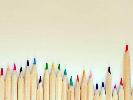 multi colored pencils art wallpaper background