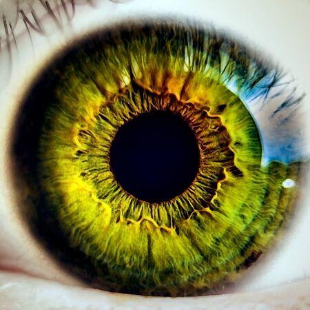 eye close up optical Zdjęcie Seryjne