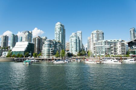 oceanfront: Downtown Vancouver Editorial