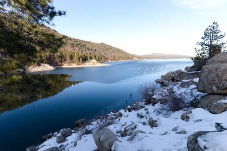 bear lake: Big Bear Lake Stock Photo