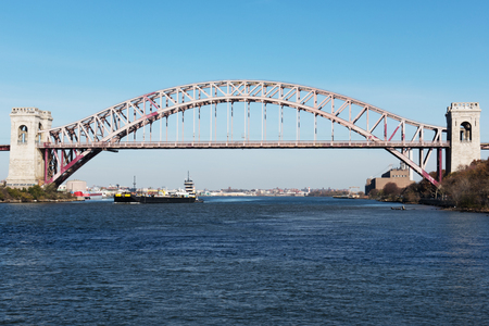 Cargo Ship on the East River
