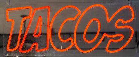 Neon Taco Sign