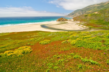 monterey: Doesnt get much more beautiful than this. Stock Photo