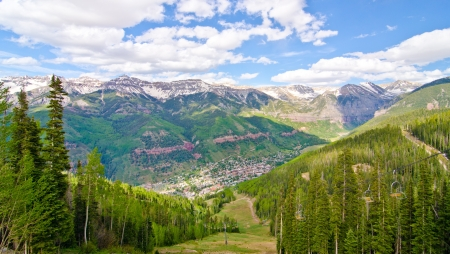 Telluride, Colorado, the Most Beautiful City in the USA photo
