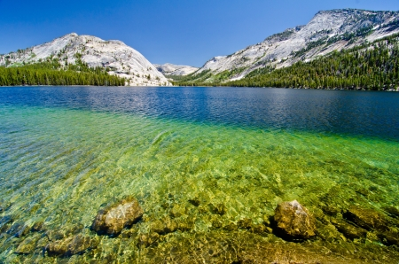 Tenaya Lake at Yosemite National Park photo