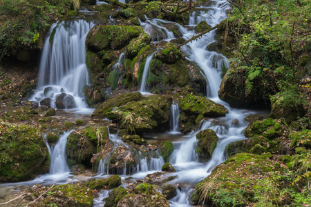 Mountain stream at Mixnitz in Styria, Austria Stock Photo