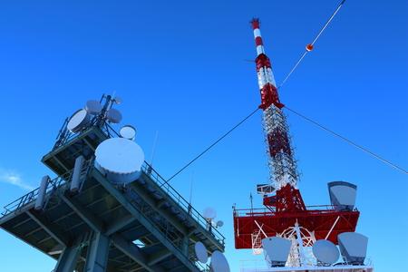 transmitting: Transmitting antenna on Schoeckl at Graz, Austria
