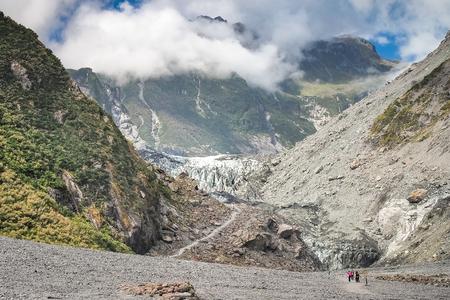 Fox Glacier in New Zealand.