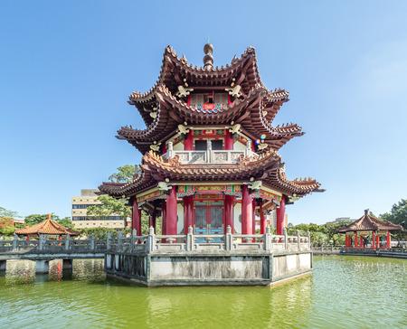 228 Peace Memorial Park in Taipei City.