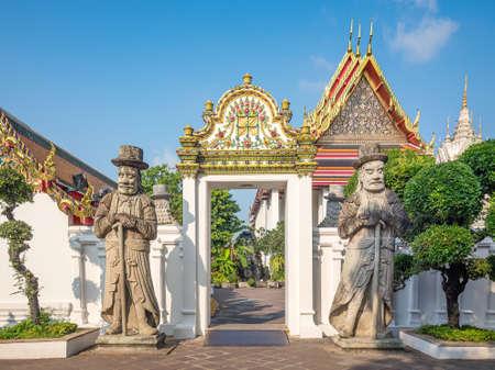 Wat Pho, the temple of the the Reclining Buddha in Bangkok, Thailand. Editöryel