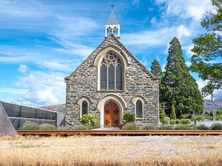 The historic church is sitting on  Cromwell Heritage Precinct in New Zealand.