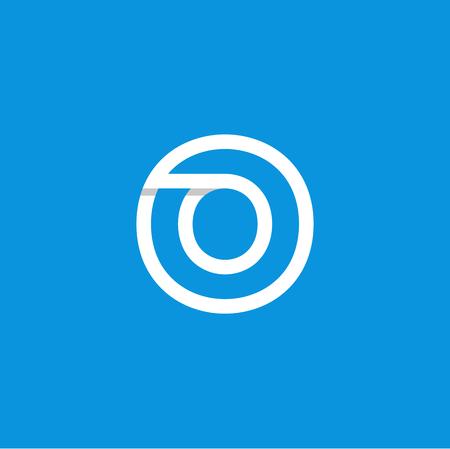 Modern Vector Logo Letter O. O Letter Design Vector 矢量图像