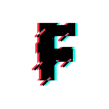 Modern Vector Logo Letter F. F Letter Design Vector Logó