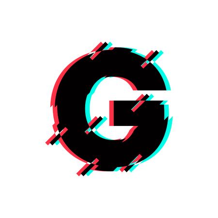 Modern Vector Logo Letter G. G Letter Design Vector Logó