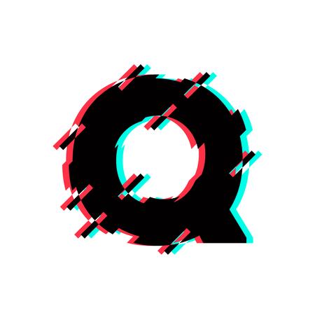 Modern Vector Logo Letter Q. Q Letter Design Vector