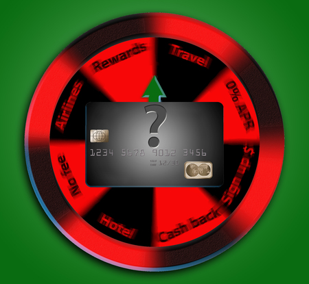 Credit card with many options for rewards to cash back bonuses and more.
