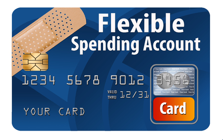 This is a generic FSA flexible spending account debit card. It is an illustration and is about medical insurance and healthcare.