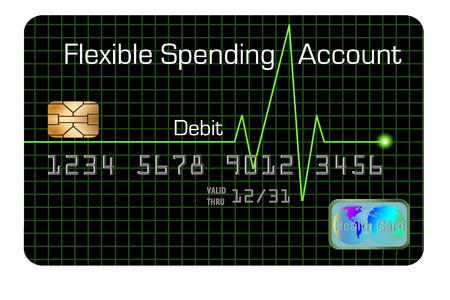 This is a flexible spending account debit card that is used in a health insurance plan.