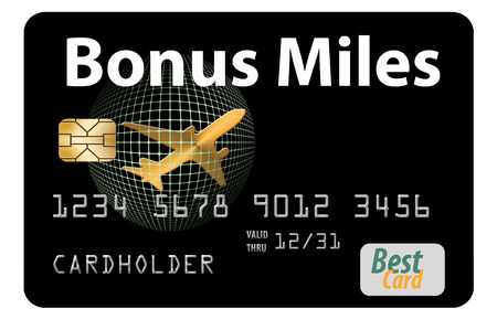 Here is an air miles rewards, frequent flier, credit card.