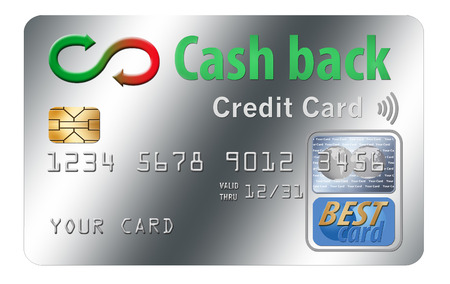 Here is a generic, mock (safe to publish) cash back rewards credit card. This is an illustration.