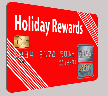Here is a generic, mock (safe to publish) rewards credit card. This is an illustration.