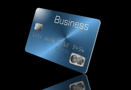 Here is a generic, mock (safe to publish)  business credit card. This is an illustration. Banco de Imagens