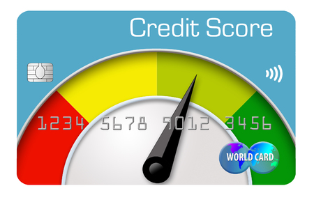 Here is a credit score meter to measure your credit score.