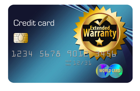 Here is an extended warranty credit card that offers warranties on item purchased using this card. Banco de Imagens