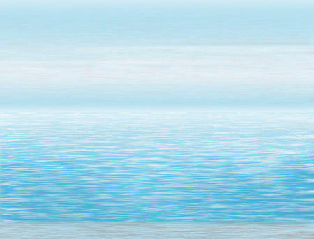 Here is an ocean scene, water and sky in a background illustration.