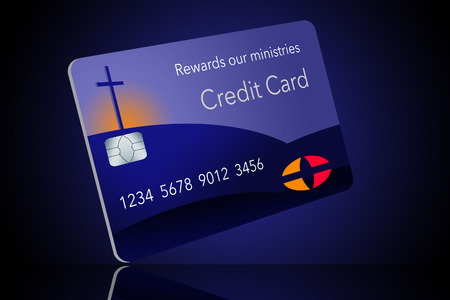 Here is a credit card sponsored by a religious entity that gives rewards back to the ministry when used by parishoners. It is a rewards religious credit card.