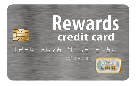Here is a rewards credit card that is generic. It offers perks and rewards.