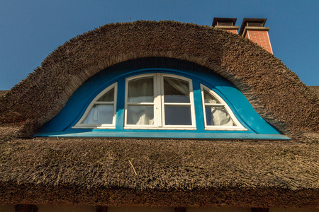 thatched roof: Thatched roof  Detail  Stock Photo