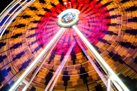 christmas market: Ferris Wheel on Christmas Market Stock Photo